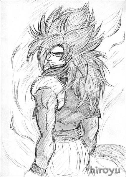 Dibujos De Gogeta Ssj4 Para Colorear Imagui