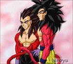 Goku and Vegeta 15