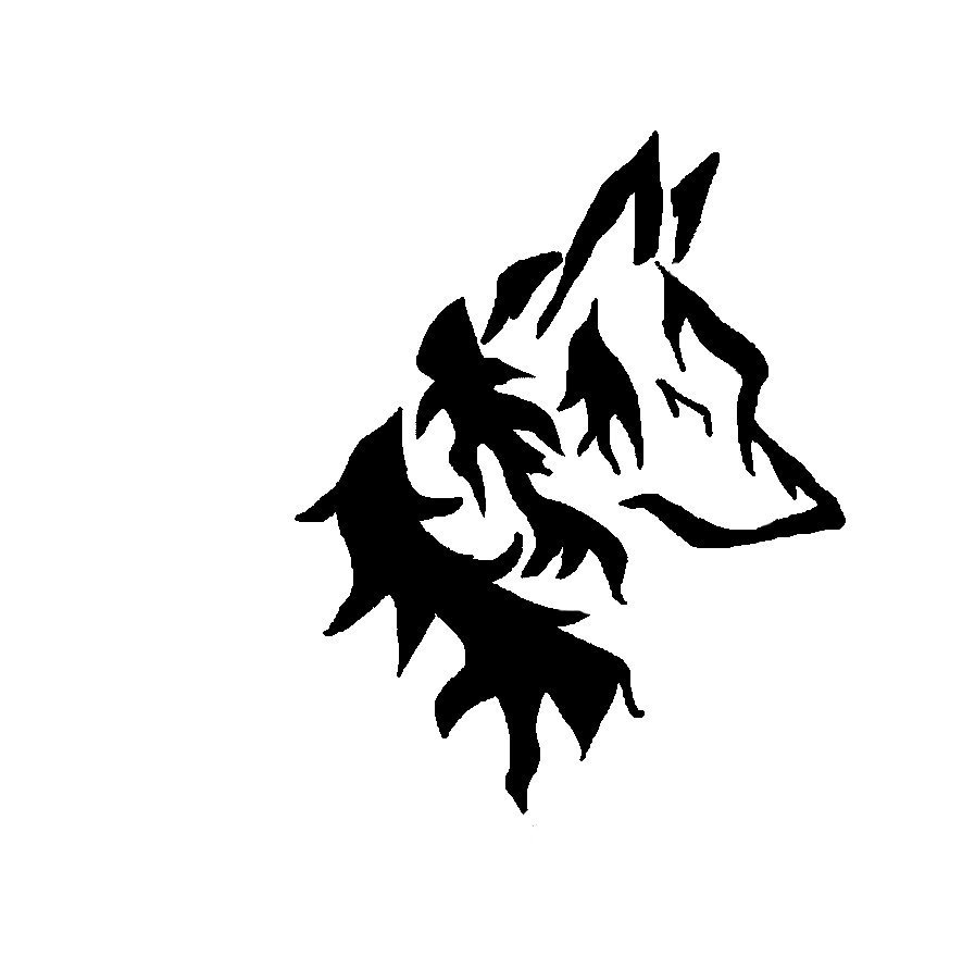 Tribal Wolf Wallpaper: Tribal Wolf Head By AnimeWolveslover On DeviantArt