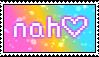 Nah   Stamp by TheSiberianHusky
