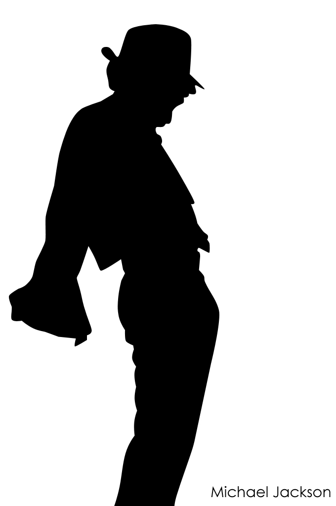 Michael Jackson Silhouette by munchester2cool on DeviantArt