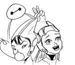 Disney Inktober 24 - Scifi by salemcattish