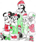 Mickey And Friends by salemcattish