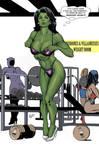 She-Hulk In The Gym