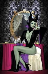 Maleficent Goes Madison Avenue