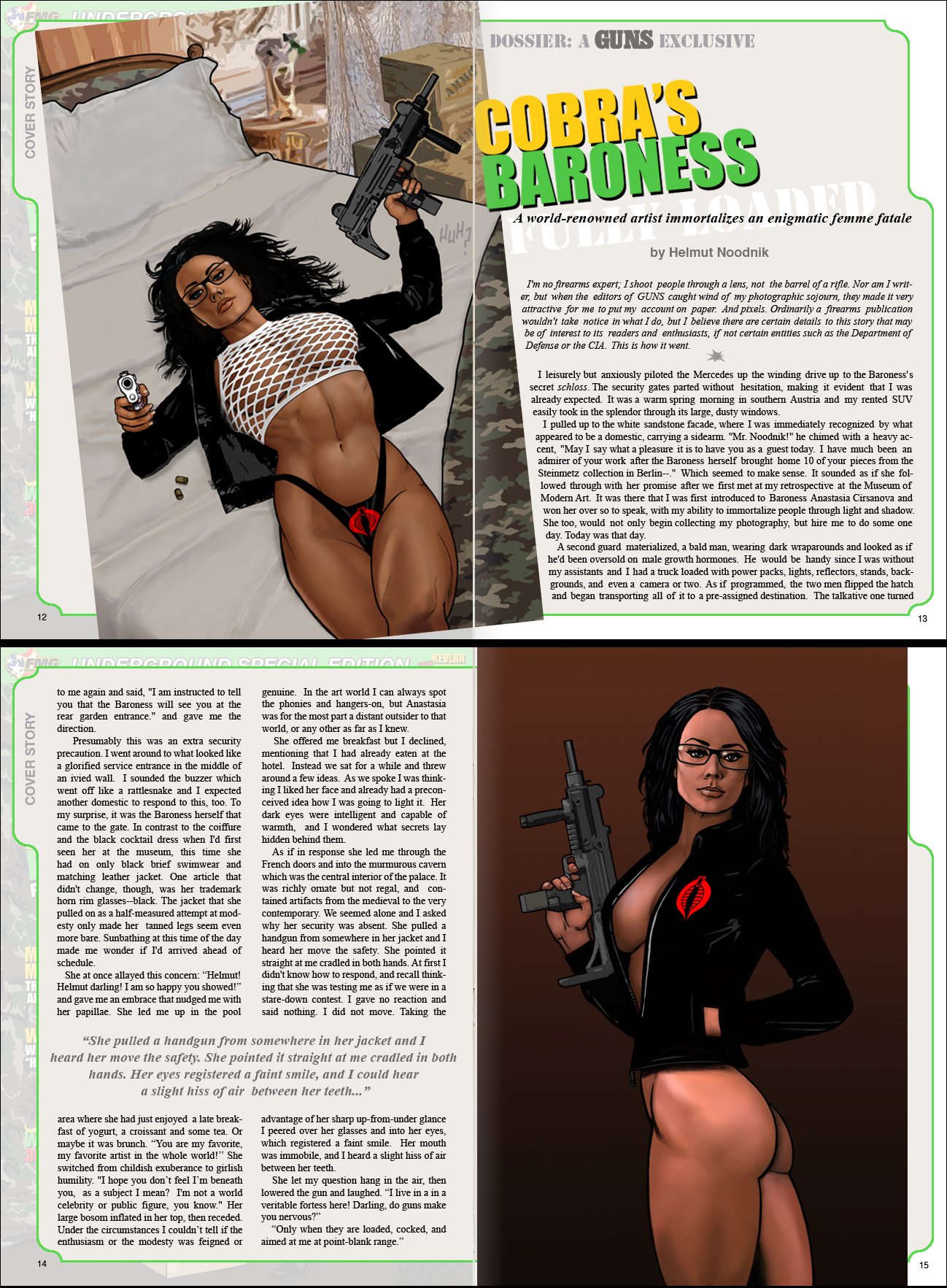 Baroness Fully Loaded pt 1 by co4