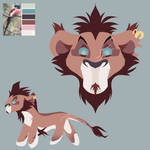 The Lion King | Adopt Auction  by artsf1k