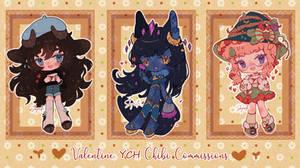 Valentine Chibi YCH Comissions! ~