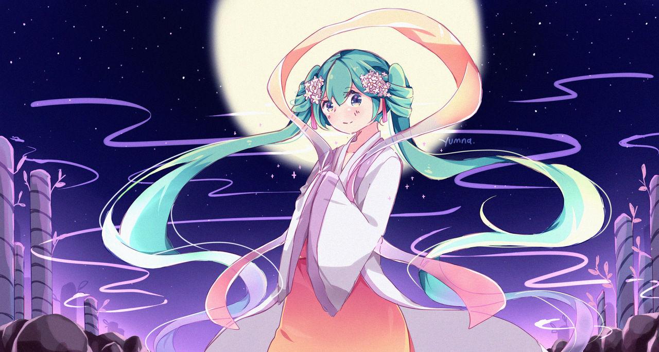 Harvest Moon Miku.