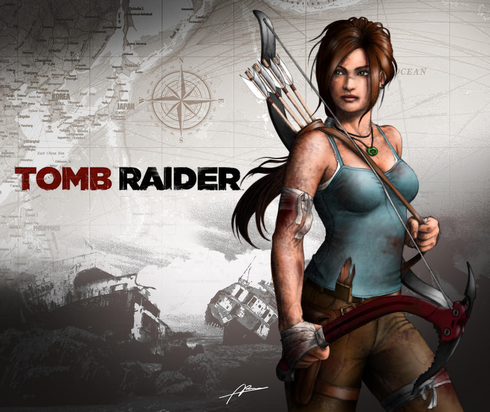 Lara Croft Tomb Raider Reborn Contest Entry 1 By Abremson