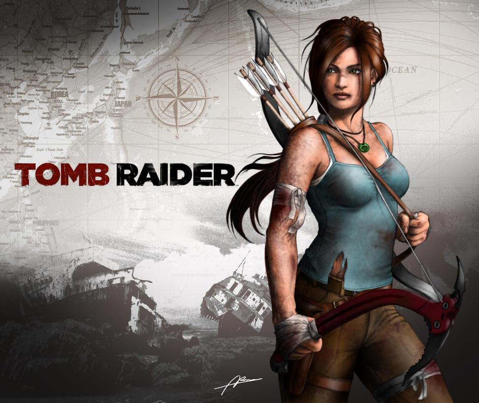 Lara Croft Tomb Raider Reborn Contest Entry 1 by Abremson