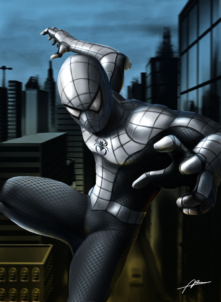 Armored Spider-man by Abrem008