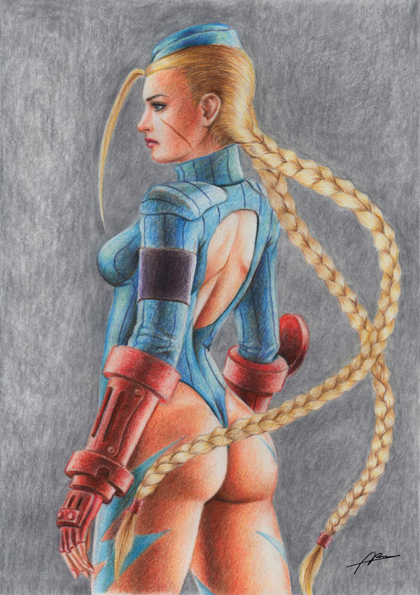 Cammy Colored Pencil 2 by Abremson