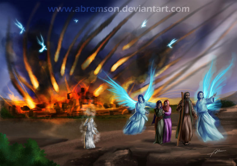 Destruction Of Sodom And Gomorrah By Abremson On Deviantart
