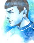 Spock by MariaBruggeman