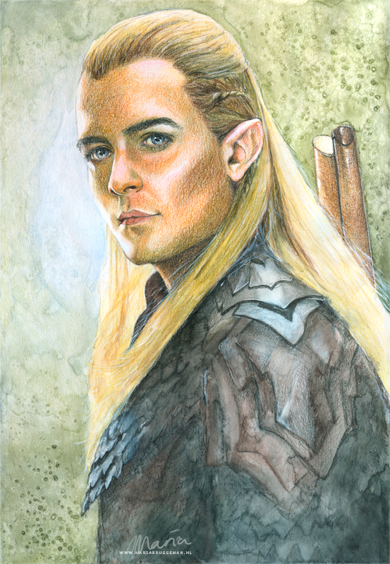 The Hobbit: Legolas by MariaBruggeman