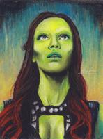 Gamora by MariaBruggeman