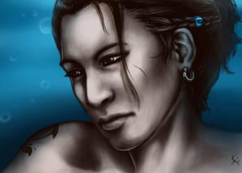 Portrait Nadrash by chinahaeschen