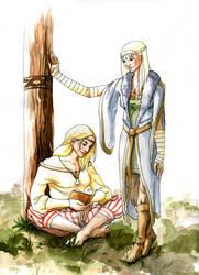 Sigrun and Audur by chinahaeschen