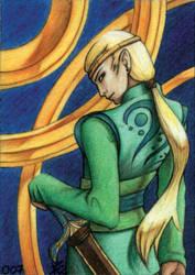 Elf Warrior by chinahaeschen
