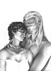 Amaryll and Iain by chinahaeschen