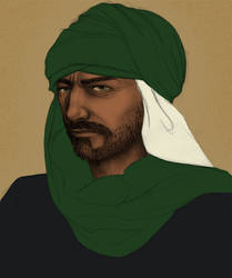 Ralhel ibn Dhamar by chinahaeschen