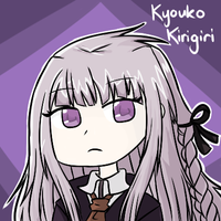 Kyouko Kirigiri from Dangan Ronpa