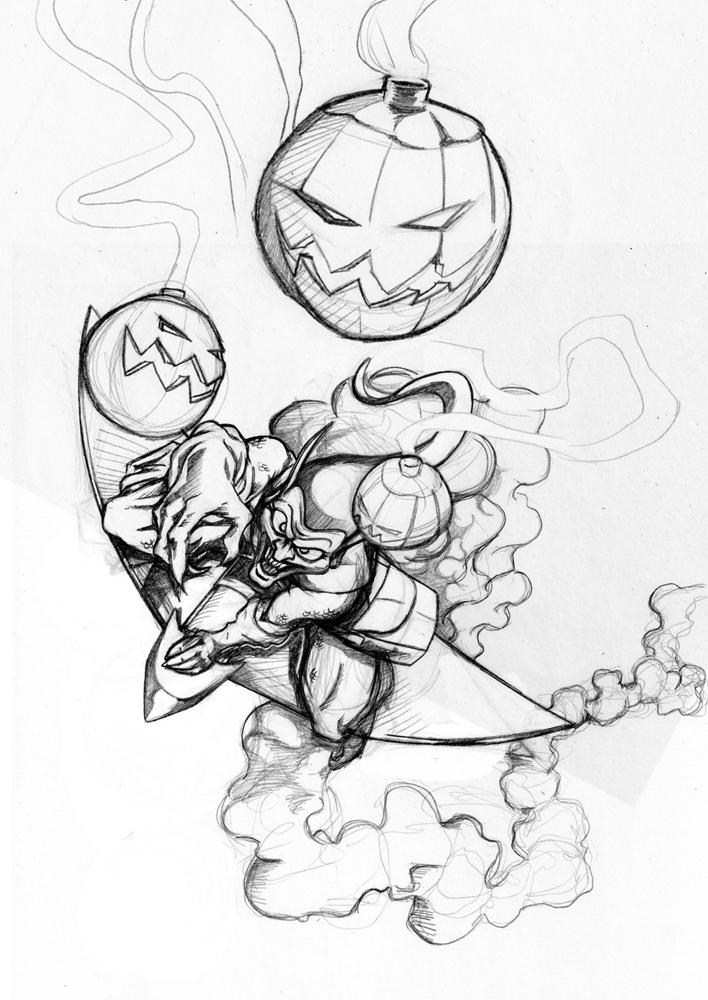 And a Goblin, Osborn.... by DouggieDoo
