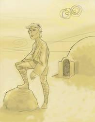 DSC 05-05-14 Luke Skywalker by DouggieDoo