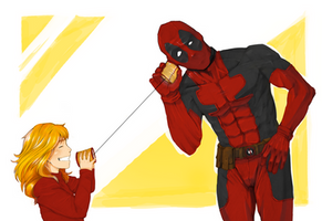Deadpool and Annie - July 21, 2013