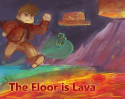 Game Pitch - The Floor is Lava