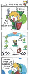 strip legend of zelda - first adventure by Mother-nono