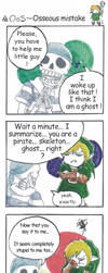 strip legend of zelda - osseous mistake by Mother-nono