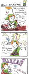 strip legend of zelda - Boomerang by Mother-nono