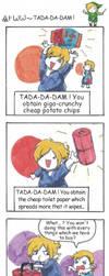 strip legend of zelda - tada da dam by Mother-nono