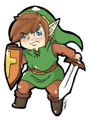 Chibi Link AoL by Mother-nono