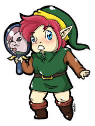 Chibi Link ALttP by Mother-nono