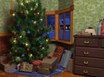 Christmas Scene: Main Composition