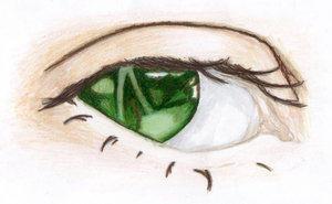 Green Eye by Josephine-Death by Eye-Fetish-Market