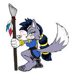 Lupe the Wolf Feetz