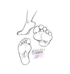 Another Foot Practice Pic