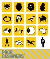 poor symbols by SirPrimate