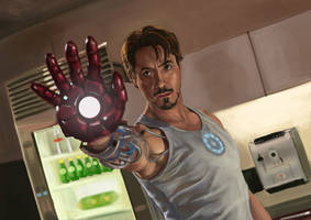 Tony Stark by jiangming