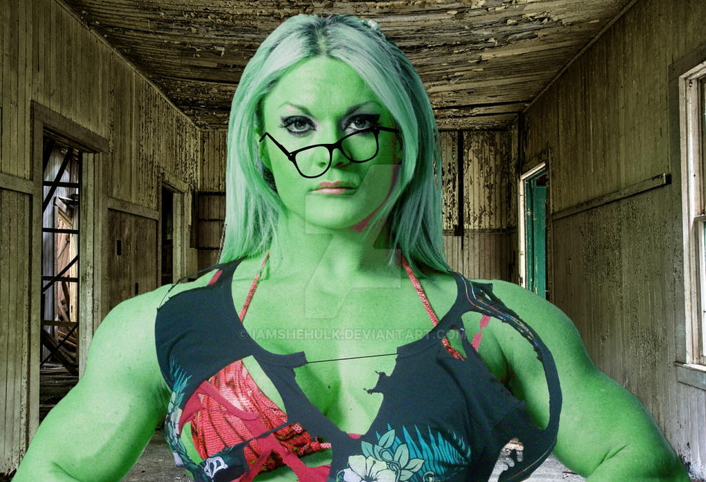 SHE HULK TRANSFORMATION : DON'T MESS WITH ME! by ...
