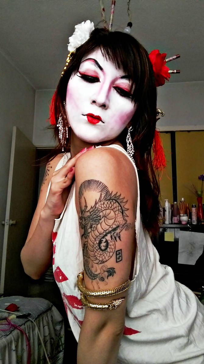 Geisha Makeup by 00kin00 ...