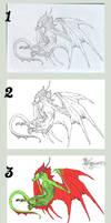 wip of Sky Dragon