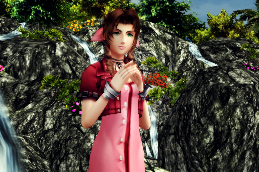 Aerith's dream by Dragunova-Cosplay