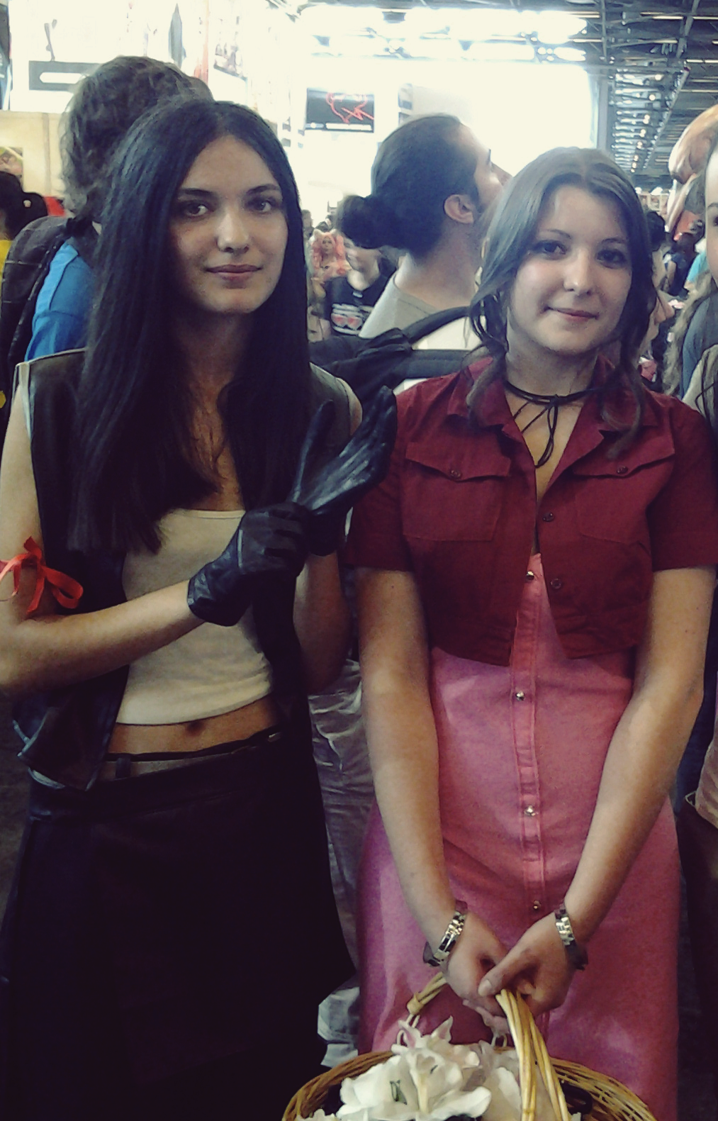 Tifa and Aerith Cosplay by Dragunova-Cosplay