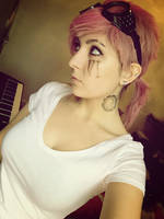 Vi from LoL Cosplay test