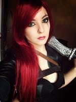 Katarina  Cosplay from LoL by Dragunova-Cosplay